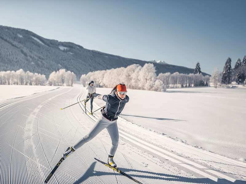Langlaufen im Eisacktal - Südtirol