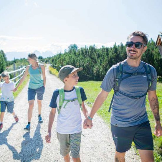 A variety of hiking trails in South Tyrol